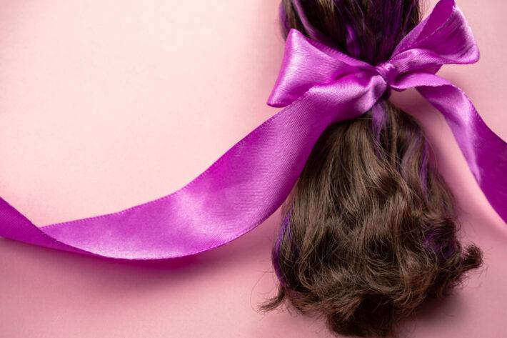 Doação de cabelo